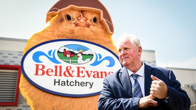 Scott Sechler Sr., president of Bell & Evans, believes the organic chicken company will have jobs for new Puerto Rican residents of Lebanon County.