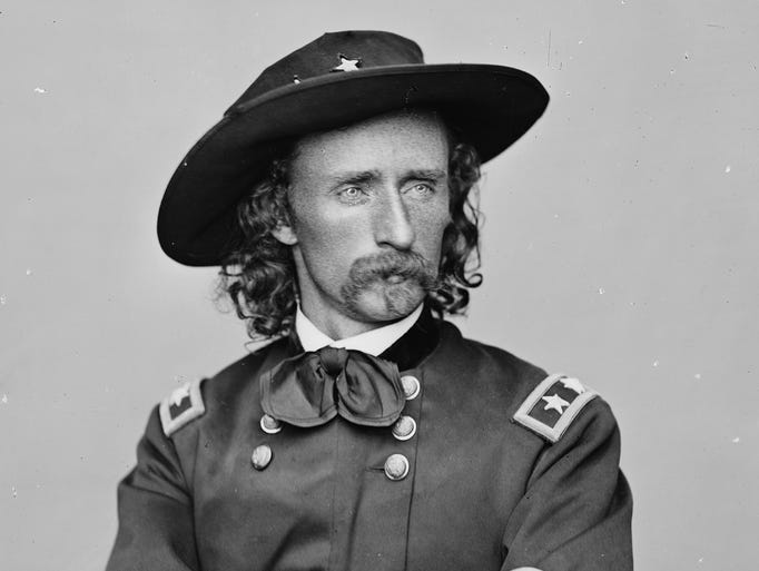 Michigan always had George Armstrong Custer's back.
