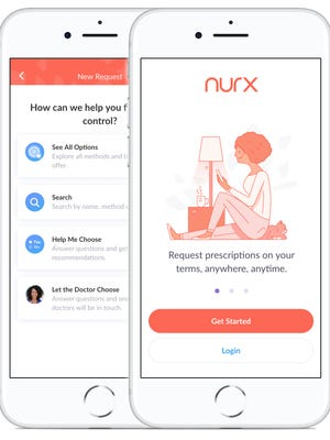Nurx, which offers prescription birth control without a physical exam, is available online or through an iOS app.