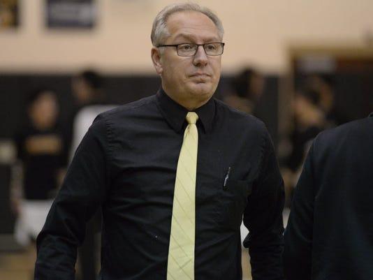 John Finke, West Milford's boys basketball coach
