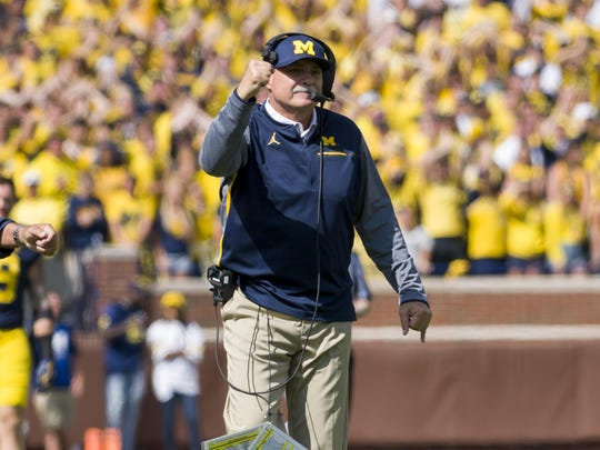 Defensive coordinator Don Brown has some new, young staff members this season.