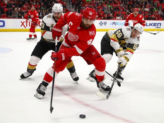 Vagas Golden Knights v Detroit Red Wings