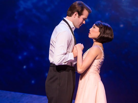 "McGee Maddox and Allison Walsh perform in ""An American in Paris,"" at the Marcus Center through Sunday."
