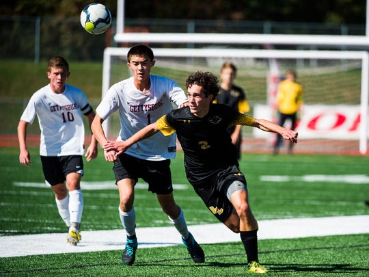 Red Lion's Ben Warner will play college soccer at Shippensburg.