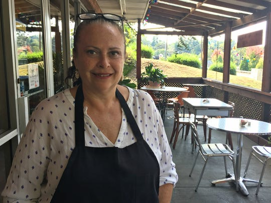 Cecilia Marchesini, owner of Cecilia's Kitchen in Asheville.