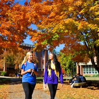 Fall color was vibrant last year on the Western Carolina University campus. WCU biology professor Beverly Collins has predicted a spottier and more prolonged leaf color season if temperatures remain warm through September in WNC.