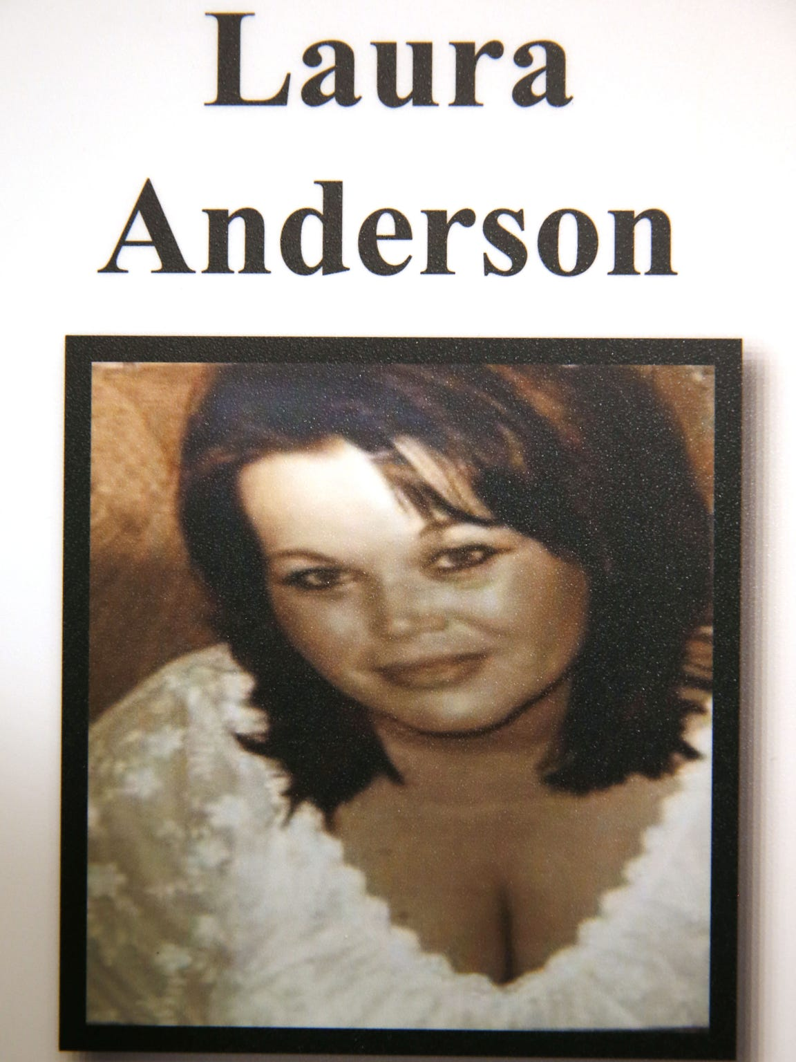 A photo of Laura Anderson, a victim of Dwight Jones,