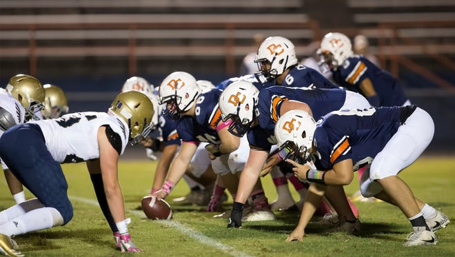 Dickson County suffered a 49-24 loss to Independence on Thursday.