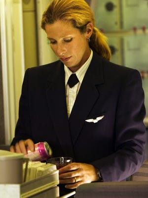 Be specific when ordering. Not only does it make the flight attendant's job easier, but everyone on the plane will get served more quickly.