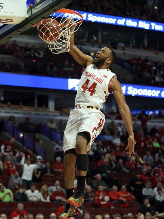 NCAA Basketball: Big Ten Conference Tournament-Maryland vs Indiana
