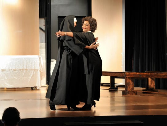 Desirae Lewis and Lavonne Hart, who plays the Mother