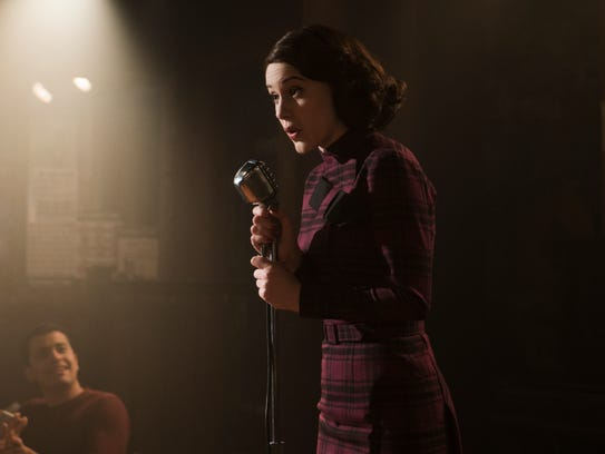 "Rachel Brosnahan stars as Miriam (Midge) Maisel in Amazon's ""The Marvelous Mrs. Maisel."""
