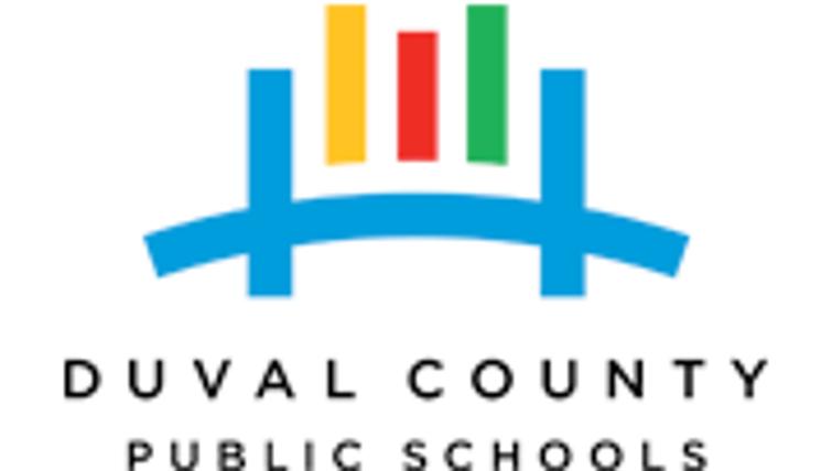 Logo for Duval County Public  Schools.