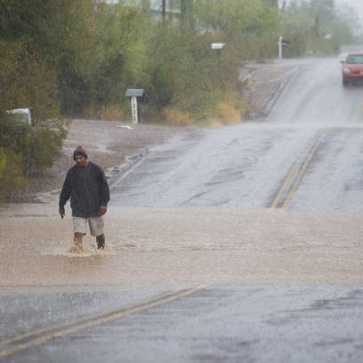Phoenix monsoon 2017: Robust rain totals recorded in parts of southeast Valley