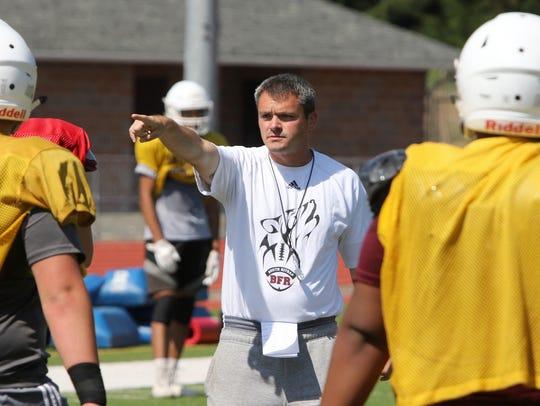 First year South Kitsap coach Cory Vartanian talks