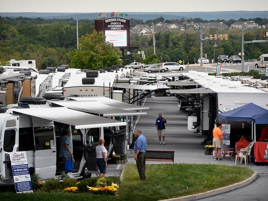 America's Largest RV Show returns to the Giants Center in Hershey for its 50th anniversary.