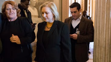 In battle with Trump, Gillibrand emerges as national figure