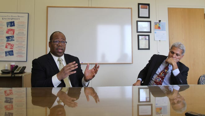 Van Henri White, city school board president, and Superintendent Bolgen Vargas talk about Vargas' resignation and what comes next for the district.