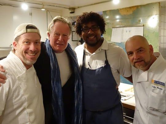 Arizona chefs Joshua Hebert, Stephen Jones and Kelly