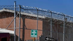 Guards patrol the Tennessee Prison for Women in Nashville,