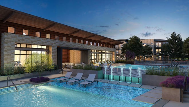 Two Dallas-based companies are planning to build a 339-unit apartment project called Aura Avery Ranch in a fast-growing corridor in North Austin.