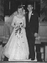 Bill Bullock married Dorothy Hinerman on Oct. 10, 1953, in Hubbard, Ohio.