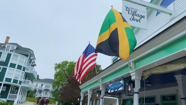 Kingston Kitchen at the Village Inn – a taste of Jamaica on Mackinac and in Okemos.