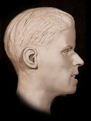 Facial reconstruction of John Doe found in 1987.