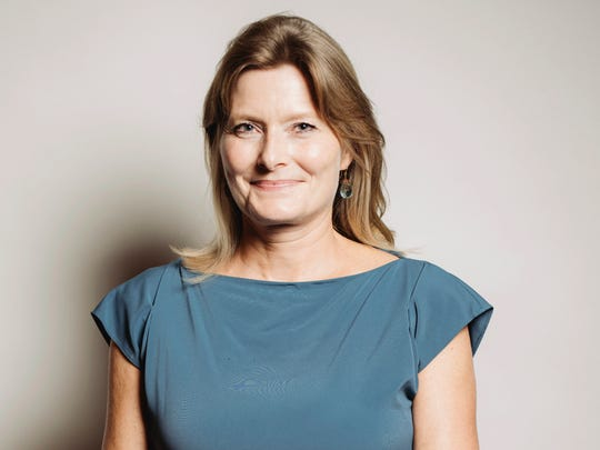 Author Jennifer Egan poses for a portrait at 26th Annual Literary Awards Festival in Beverly Hills, Calif., in 2016. Egan has been named the new president of PEN America.