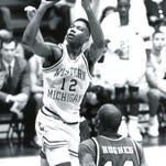 Leon McGee in action during his WMU days.
