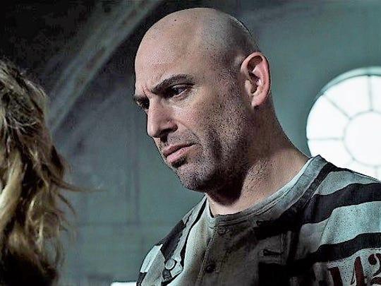 Stink Fisher portrays the bruising villain Aaron Helzinger in the Fox drama 'Gotham.'