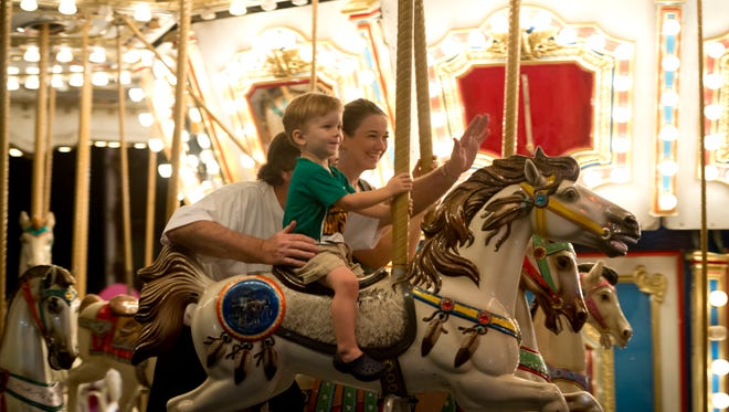 The 52nd annual St. Helen Harvest Festival is Nov. 17-20 at Historic Dodgertown in Vero Beach. Discounted ride tickets go on sale Tuesday.