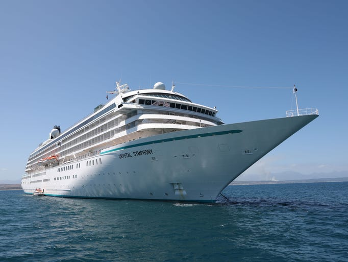 One of the most luxurious cruise ships afloat, Crystal