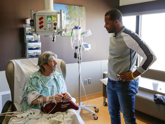 Randall Cobb talks about Packers football with transplant