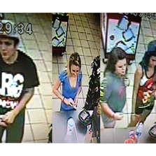 Suspects accused of stealing a car in Julington Creek.