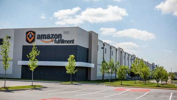 The 1.2-million-square-foot Amazon Fulfillment Center in Middletown.
