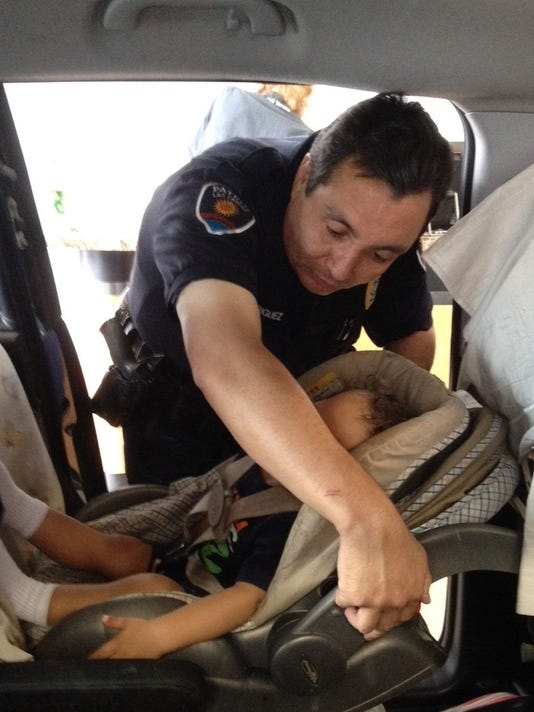 Child safety seat clinic