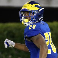 Why wait? Freshman running back ready to seize opportunity for Blue Hens