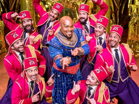 """Aladdin"" costume designer Gregg Barnes' costumes for"