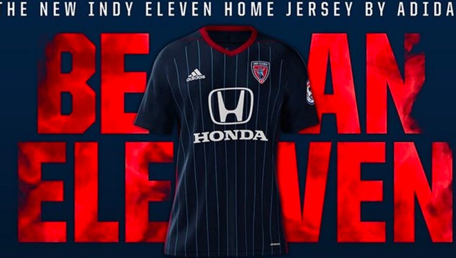 The Indy Eleven unveiled a new uniform, along with the announcement of a uniform partnership with adidas, on Tuesday, April 25, 2017
