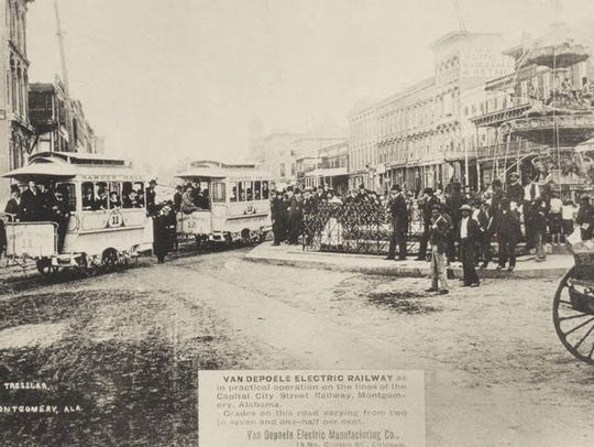 The Capital City Street Railway Co. initiated an electric