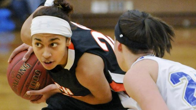 St. Cloud Tech's Kaila Burroughs is the Times' All-Area girls basketball player of the year.