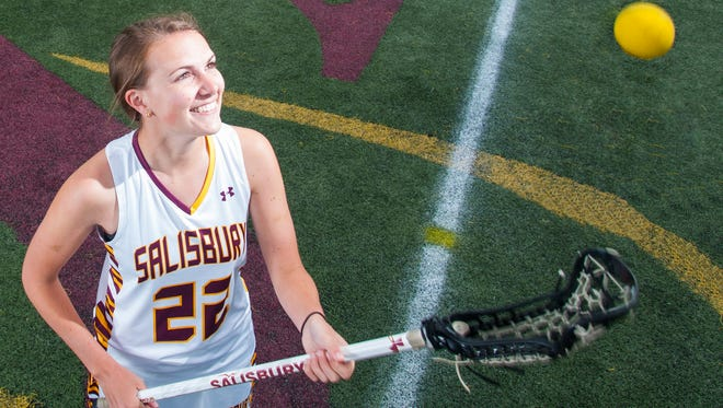 Salisbury junior attack Megan Wallenhorst has stepped up big for the Sea Gulls in 2015 who have needed a leader on the field after a slew on early season injuries.