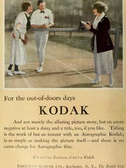 Composer Larry Neeck wrote a jingle about Kodak inspired by a vintage ad.
