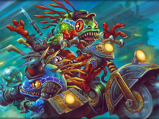 Hearthstone gets a new expansion in Mean Streets of Gadgetzan.