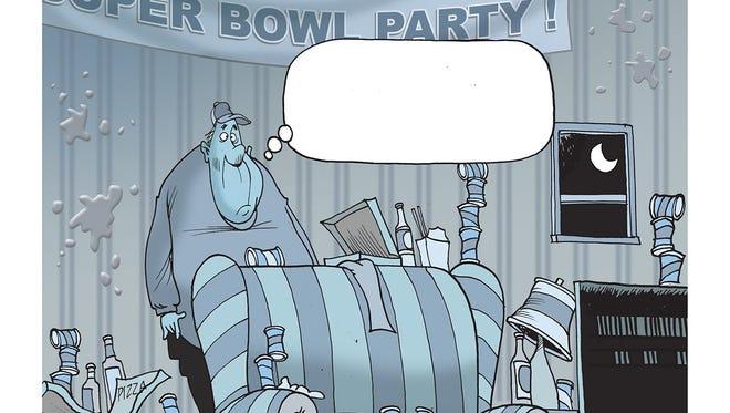 Mike Thompson's cartoon
