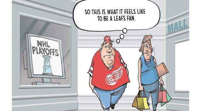 Our Free Press cartoon caption contest winner.