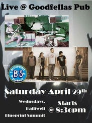 The lineup for this Saturday's bands that will be performing