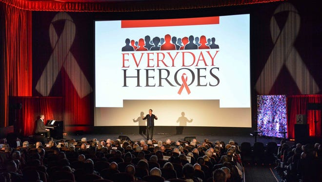 Jason Graae performs at the 3rd Annual Everyday Heroes Awards, marking World AIDS Day by Desert AIDS Project in Palm Springs, CA.
