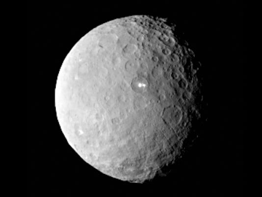 Image of dwarf planet Ceres from NASA's Dawn spacecraft.